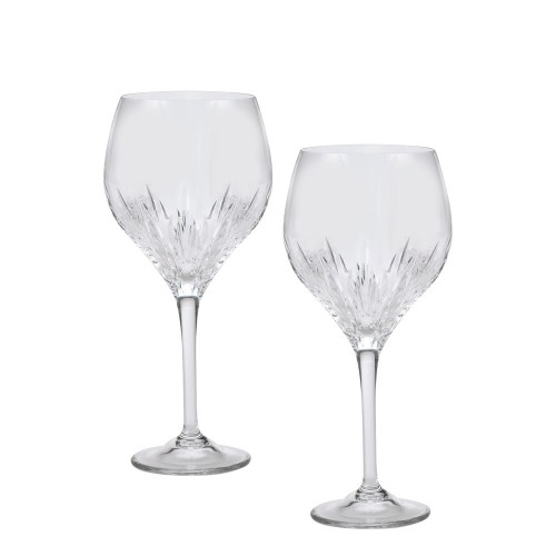 Vera Wang Crystal Duchesse Goblet Set Of 2