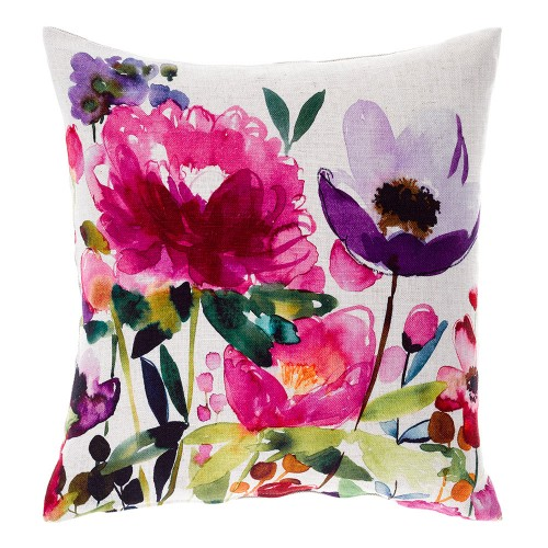 Bluebellgray Anemone Linen Cushion